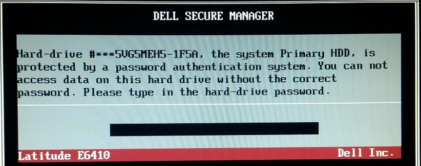 dell 1f5a hdd password