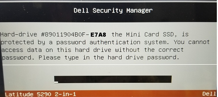 Dell BF97 HDD Password