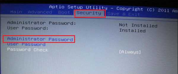 dell 11 3162 bios password